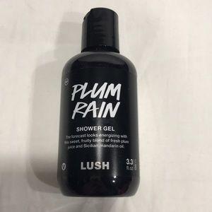 Lush Plum Rain Shower Gel 3.3 OZ